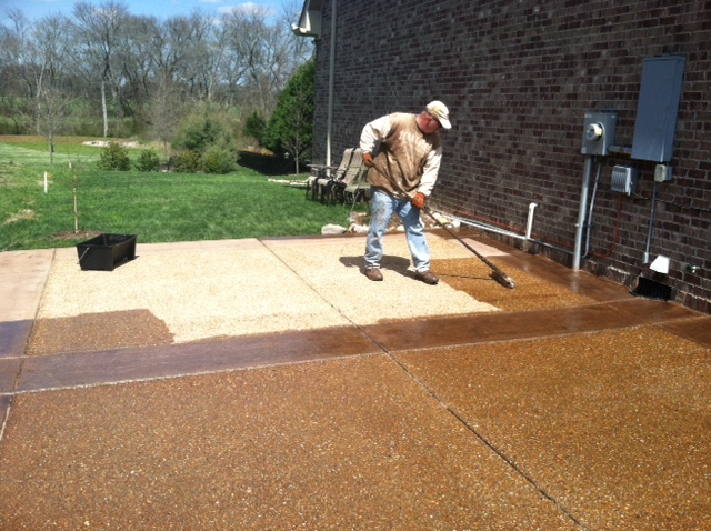 Pressure Washing Painting Driveway Sealing Deck Staining Fence Concrete Acid Decorative And Light Handywork Are My